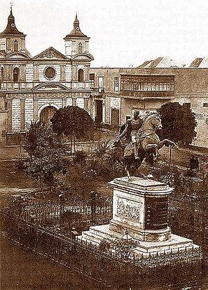 Plaza Bolivar (Lima) - Image: Plazabolivar