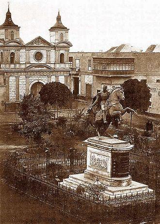 Plaza Bolívar, Lima - Image: Plazabolivar