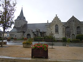 The Church of Saint-Pierre, in Ploërdut