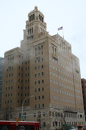 Plummer Building - The Plummer Building seen from the southwest.