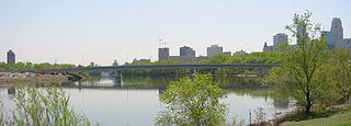 Plymouth Avenue Bridge bridge in Minneapolis, Minnesota