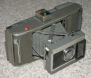Polaroid's Land Camera Model J66 camera