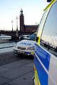 Polisbilar i centrala Stockholm 2009.jpg