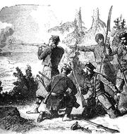 Polish ambush during the January Uprising