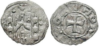 Treaty of Chernomen - Coin of Andronikos III.