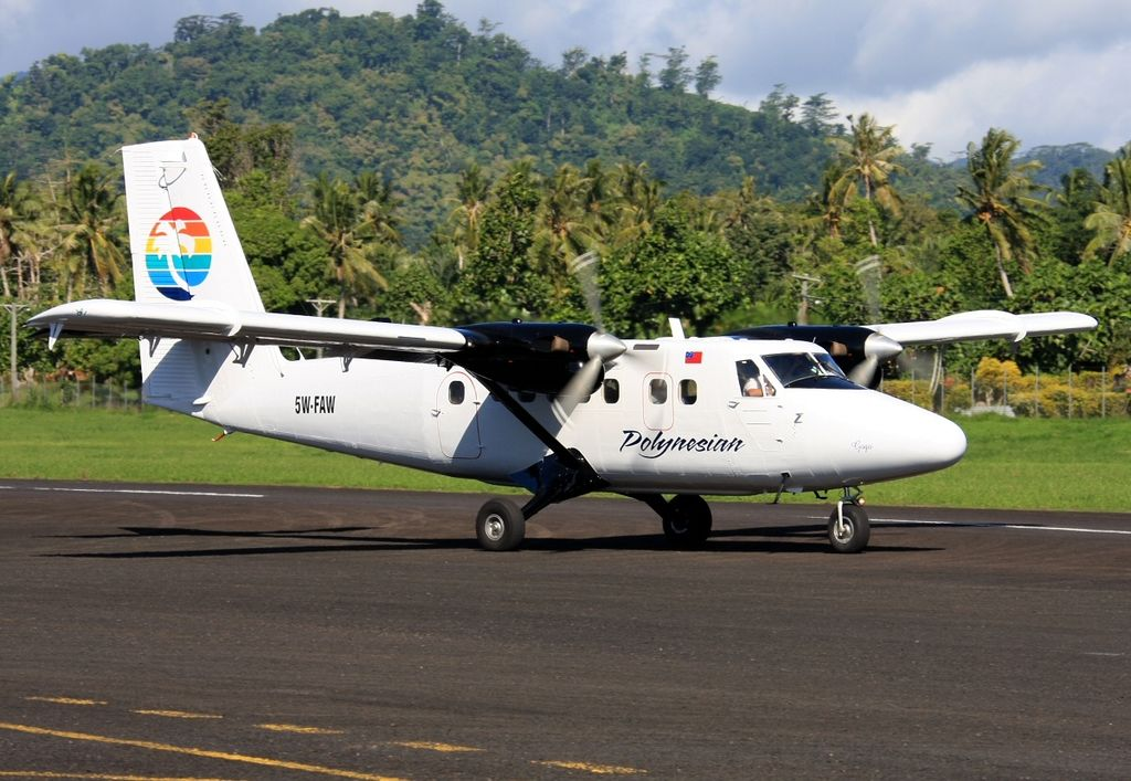Polynesian Airlines de Havilland Canada DHC-6-300 Twin Otter at Fagali'i Airport