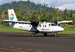Polynesian Airlines de Havilland Canada DHC-6-300 Twin Otter at Fagali'i Airport.jpg
