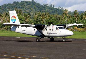 Samoa Airways - A Samoa Airways De Havilland Canada DHC-6-300 Twin Otter