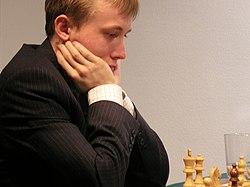 International Grandmaster Ruslan Ponomariov, former FIDE World Chess Champion in 2002