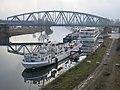 Pont ferroviaire sur le bassin Vauban à Strasbourg.jpg