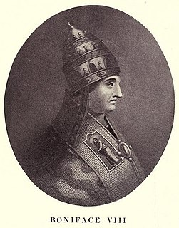 Pope Boniface VIII 193rd Pope of the Catholic Church