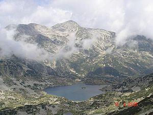 View of the Popovsko lake from Dzhano