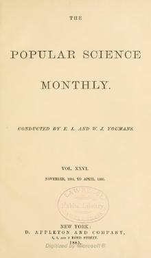 Popular Science Monthly Volume 26.djvu