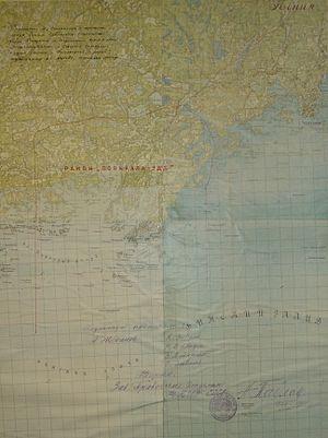 Porkkala Naval Base - Porkkala Naval Base location on an map