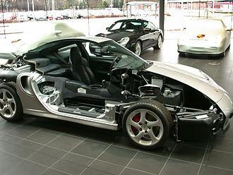 Multiview projection - Image: Porsche 911 halbiert Seite