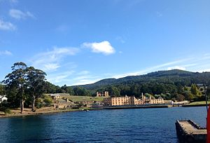 Port Arthur massacre (Australia) - Port Arthur Bay, Port Arthur, was the location of most of the shootings
