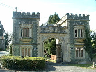 Port Eliot - The main Gate Lodge