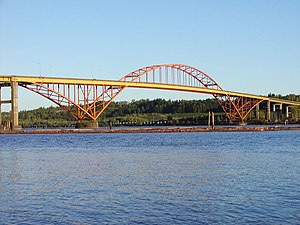 Port Mann Bridge - Image: Port Mann Bridge