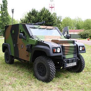 Petit Véhicule Protégé Light armoured vehicle