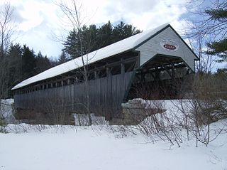 Porter-Parsonsfield Bridge place in Maine listed on National Register of Historic Places