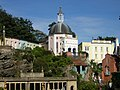 Portmeirion village with the Pantheon dome - geograph.org.uk - 525007.jpg
