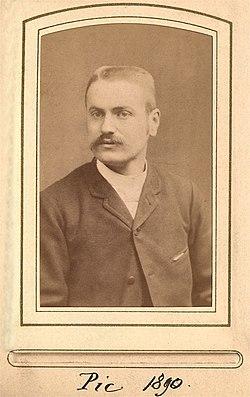 Portrait de Maurice Pic en 1890.jpg
