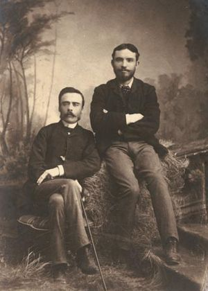 Victor Daley - Victor Daley (at right)