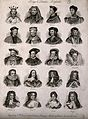 Portraits of twenty kings and queens of England. Engraving b Wellcome V0006816.jpg