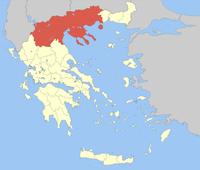 Η θέση της Μακεδονίας στην Ελλάδα