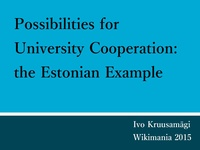 Possibilities for university cooperation the Estonian example.pdf