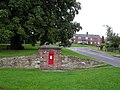 Post box, Ilmington - geograph.org.uk - 1468805.jpg