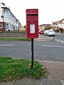 Post box on Oarside Drive, Wallasey.jpg
