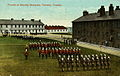 Postcard of Parade at Stanley Barracks, 1910.jpg