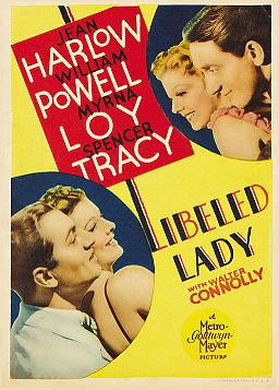 Poster - Libeled Lady 01