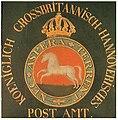 Posthausschild Hannover 1825.jpg