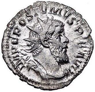 Postumus - Coin featuring Postumus.