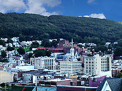 Pottsville skyline