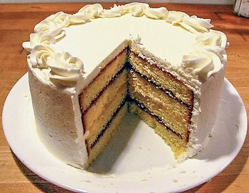 Pound layer cake