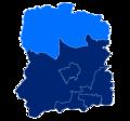 Powiat wołowski granice gmin i miast Wińsko.png