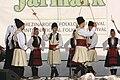 Praha, Staré Město, Ovocný trh, Pražský jarmark, srbští tanečníci IV.JPG