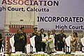 Pranab Mukherjee and the Chief Justice of India, Shri Justice Altamas Kabir releasing the Sesquicentennial Souvenir, at the concluding ceremony of the Sesquicentennial Celebrations of Calcutta High Court.jpg