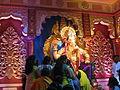 Prati Lalbaugcha Raja, Gol Circle Mitra Mandal, Kolhapur.JPG