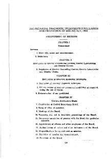 Pre-natal Diagnostic Techniques (Regulation and Prevention of Misuse) Act (India) 1994.djvu
