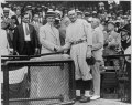 President Coolidge shaking hands with Walter Johnson at Griffith Stadium LCCN96522735.tif