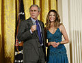 President George W. Bush and Ana Cristina.jpg