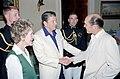 President Ronald Reagan and Nancy Reagan greet Robert Duvall.jpg