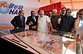 Prime Minister Narendra Modi at the foundation stone laying ceremony for HAL's Helicopter Factory, at Tumkur.jpg