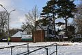 Priory School in the snow February 2009.JPG