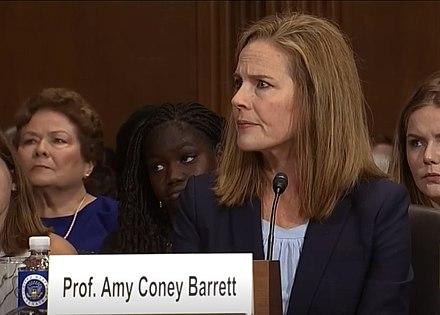 Prof Amy Coney Barrett.