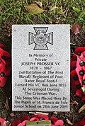 Prosser (Joseph) VC grave, Anfield Cemetery 2.jpg